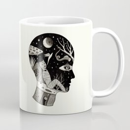 Distorted Recollection of a Dream About Death Coffee Mug