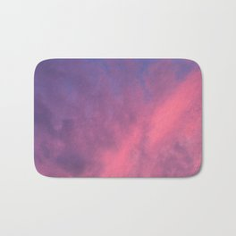 Color Bomb Sunset Bath Mat