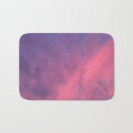 Color Bomb Sunset Bath Mat