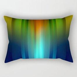 Colors Mix X Rectangular Pillow