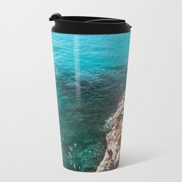 sea water Metal Travel Mug