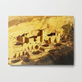 Cliff Palace at Mesa Verde Metal Print