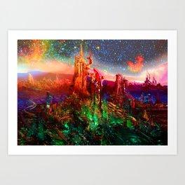 ACS-X34-12Bright Art Print