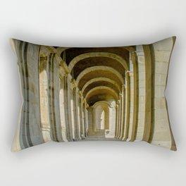 Enfilade left, Royal palace, Madrid Rectangular Pillow
