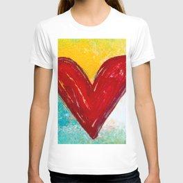Abstract Heart 2 T-shirt