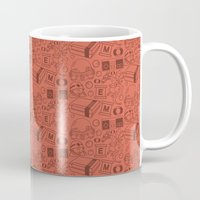 willy wonka Mugs featuring Dr Willy - Megaman by Kuki