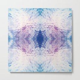 IKAT Sand and Water Metal Print