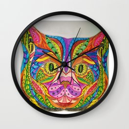 Cat Levi Wall Clock