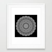 inception Framed Art Prints featuring Inception by Mr. Pattern Man
