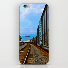 Planes, Trains, but no Automoblies iPhone & iPod Skin