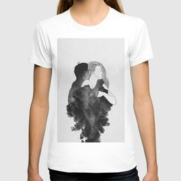 You are my peaceful heaven b&w. T-shirt