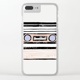 Cassette Clear iPhone Case