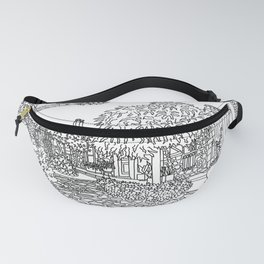 Snapshot in Collioure, France Fanny Pack