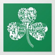 Dynasty-Green Canvas Print