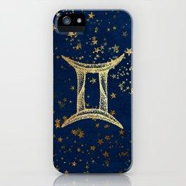 Gemini Zodiac Sign iPhone Case