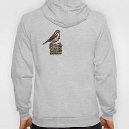 Song Sparrow Hoody