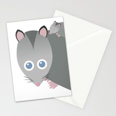 Adorable Mommy Possum Stationery Cards