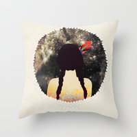 stargate Throw Pillows featuring STARGATE by Nika