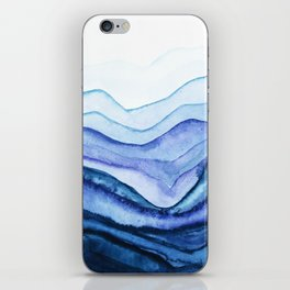 Washed Away Watercolor iPhone Skin