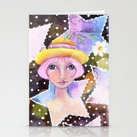 sassy Stationery Cards featuring Sassy Girl by Judy Skowron