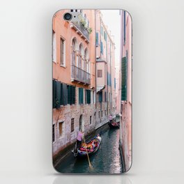 Venice Gondola Rides in Pink iPhone Skin