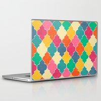 morocco Laptop & iPad Skins featuring Morocco Bright by Jacqueline Maldonado