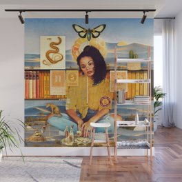 Times Are Hard For Dreamers :: Fine Art Collage Wall Mural