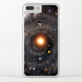 Spherical Universal View Clear iPhone Case
