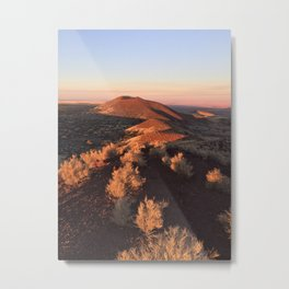 Doney Mountain in Wupatki National Monument Metal Print