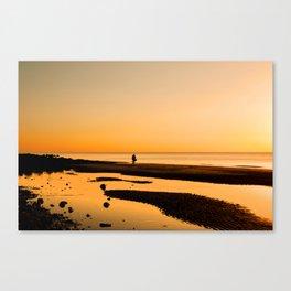 Sunset Lovers Canvas Print