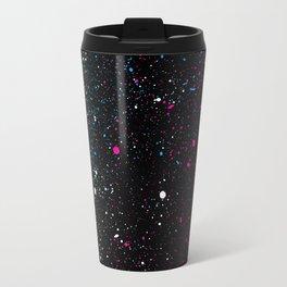 Universe Paint Splatter Travel Mug