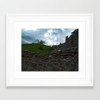 team fortress Framed Art Prints featuring Fortress by Steve Watson