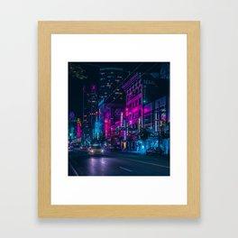 radio silence Framed Art Print