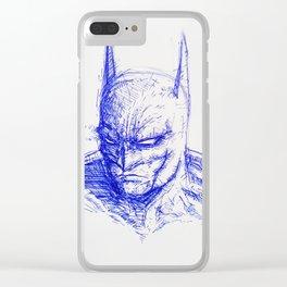 The Bat-Man Clear iPhone Case
