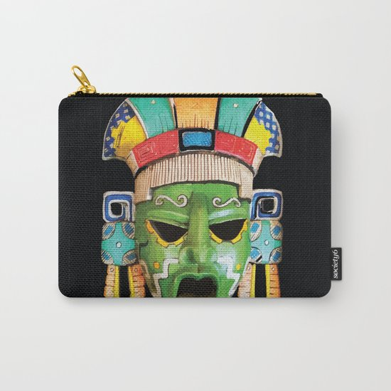 Masks of Mexico Carry-All Pouch
