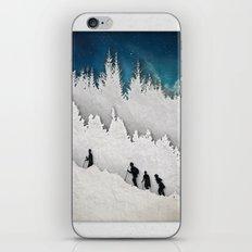 A Snowy Hike II iPhone & iPod Skin
