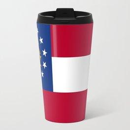 flag of the state of Georgia-Georgian,Gone with the wind,Atlanta,Colombus,Macon,Scarlett o'Hara,Usa Travel Mug