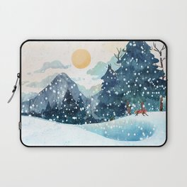 Happy Litlle Wildlife Laptop Sleeve