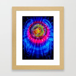 Space and time 2 Framed Art Print