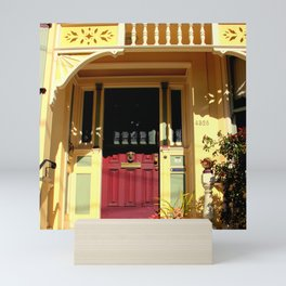 Stage Door - 1889 - No Soliciting Mini Art Print