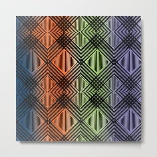 Pattern M 12 Metal Print