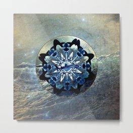 Ocean Jewels Whale Shark Metal Print