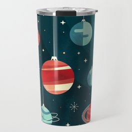 Joy to the Universe (in Teal) Travel Mug