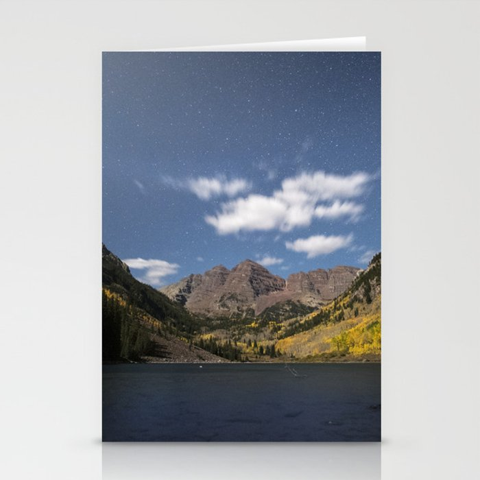 Maroon Bells in the Fall Stationery Cards