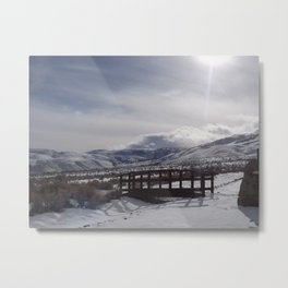 A Winter's Serenity Metal Print