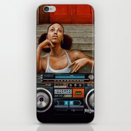Summer In The City iPhone Skin