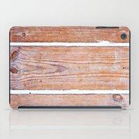 wooden iPad Cases featuring Wooden Boards by Patterns and Textures