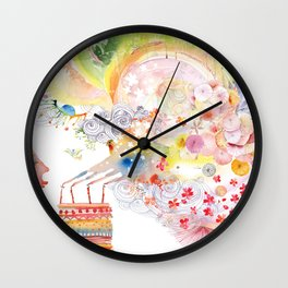 I WISH Wall Clock