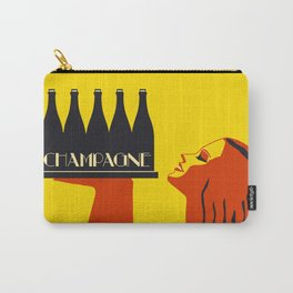 Champagne Summer Sea Fun Carry-All Pouch