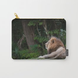 Aslan - Lion Dreaming of Heaven Carry-All Pouch